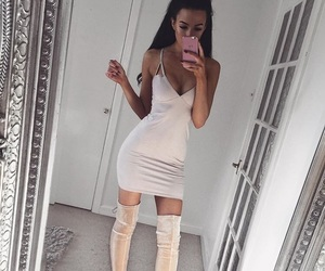 dress, style, and girl image