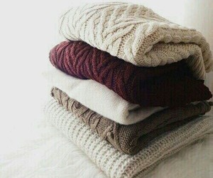 sweater, winter, and style image