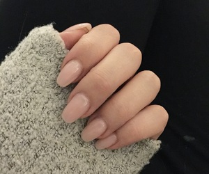 beautiful, grey, and nails image