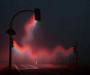 light, grunge, and night image