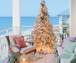 beach, christmas, and ocean image