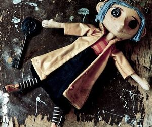 coraline, doll, and movie image