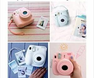 camera, polaroid, and christmas gift image