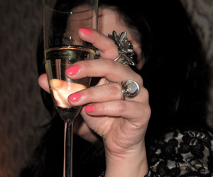 alcohol, rings, and booze image