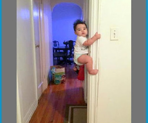babies, funny, and funny pics image