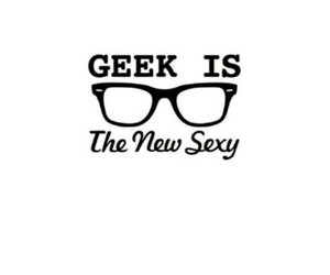 geek, sexy, and glasses image