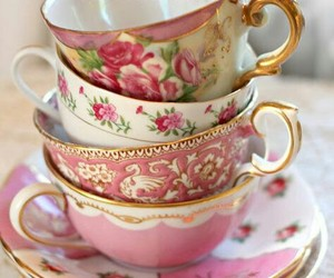 cup, tea cup, and thea image