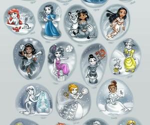 disney, princess, and elsa image