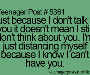 teenager post, distance, and you image