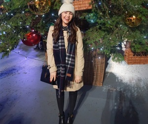 christmas, london, and outfit image