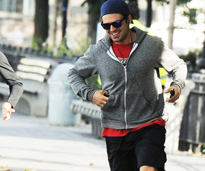 fit, running, and sebastian stan image