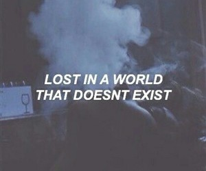 quotes, lost, and grunge image