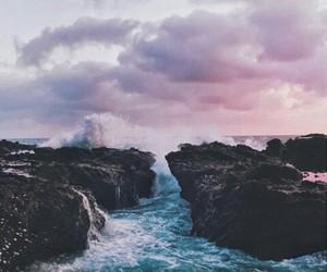 sky, sea, and nature image