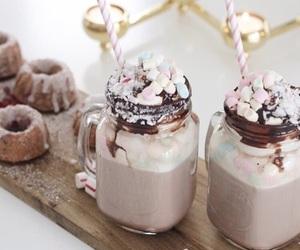 chocolate, christmas, and drink image