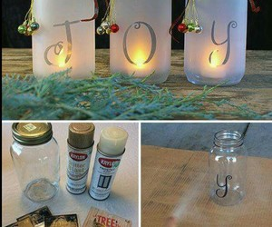christmas jar diy image