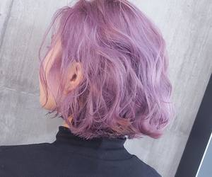 hair, purple, and aesthetic image