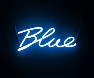blue, in, and Darkness image