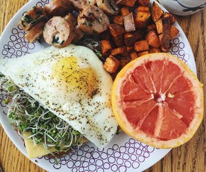 eggs, food, and fitness image