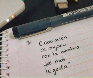 frases, mentira, and lie image
