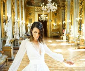 fashion, rome, and white dress image