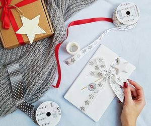 candle, christmas, and snow image