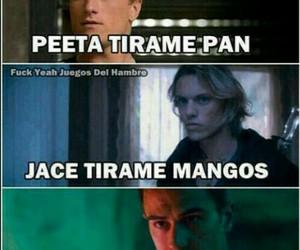 jace, tobias, and peeta image