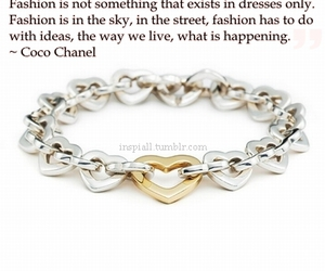 bracelet, chanel, and coco chanel image