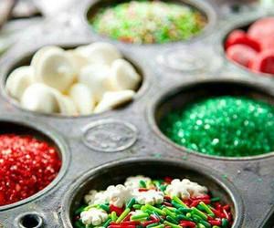 sprinkles, christmas, and holiday image