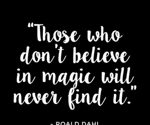 find, believe, and magic image