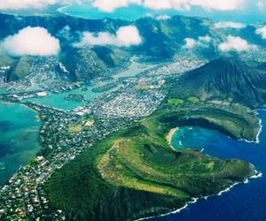 nature, beach, and hawaii image