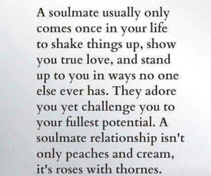 love, soulmate, and quotes image