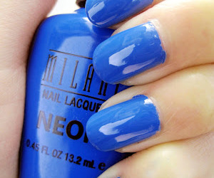 beauty, milani nail lacquere, and blue image