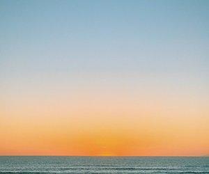 atardecer, fotografía, and beach image