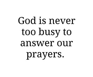 answer, busy, and god image