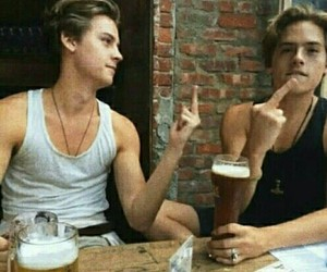 cole sprouse, dylan sprouse, and twins image