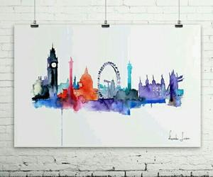 art, london, and drawing image