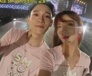 Chen, exo, and f(x) image