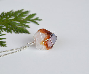 christmas, citrine, and crystals image