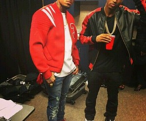 chris brown, trey songz, and breezy image