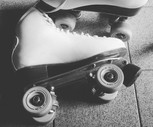 skates, patines, and love image