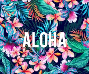 Aloha, hawaii, and wallpaper image