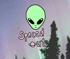 alien, wallpaper, and space image