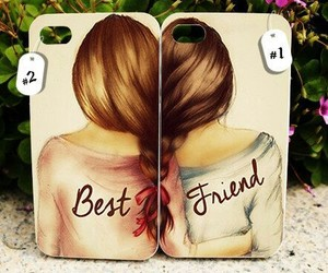 case, best friends, and iphone image