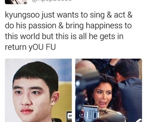 exo, kyungsoo, and exo meme image