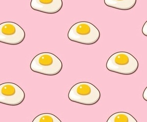 wallpaper, egg, and pink image