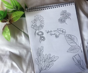 aesthetic, creative, and drawing image