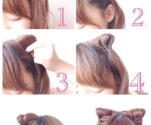 hair style, japan, and kawaii image