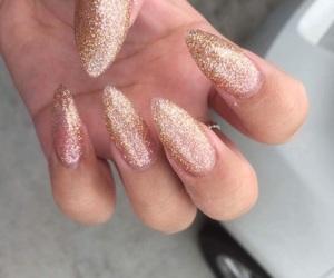 acrylics, fake nails, and girly image