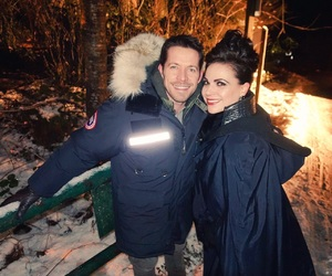 sean maguire, lana parrilla, and seana image