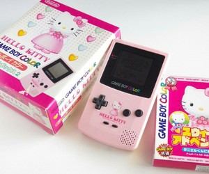 alternative, hello kitty, and game boy color image